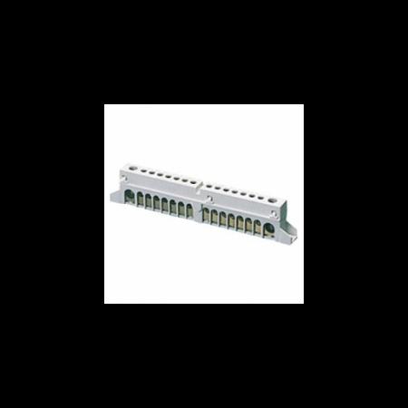 Bloc terminal pentru incastrare (1X35) + (7X10) Gewiss