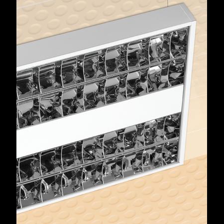 LAMPA ST BLACK 4 X 14 W, G5, SISTEM OPTIC DKL16, BALAST ELECTRONIC, IP 20 - ALMA Almalux