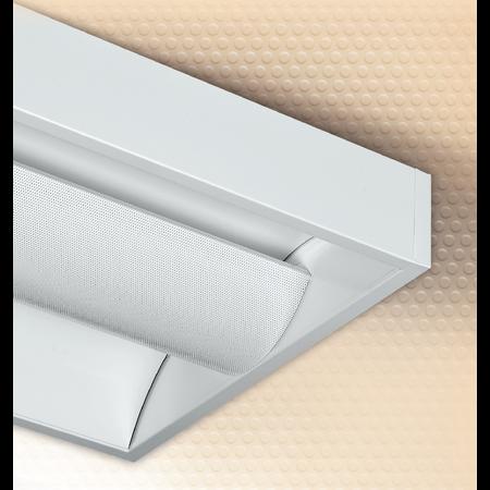 LAMPA ST COBALT CENTER 2 X 55 W, 2G11, BALAST ELECTRONIC, INVERTER CU AUTONOMIE 1 H, IP 20 - ALMA Almalux