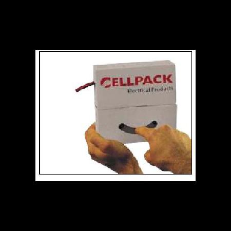 Tub termo SB 12.7-6.4 negru, rola 8m - Cellpack Cellpack