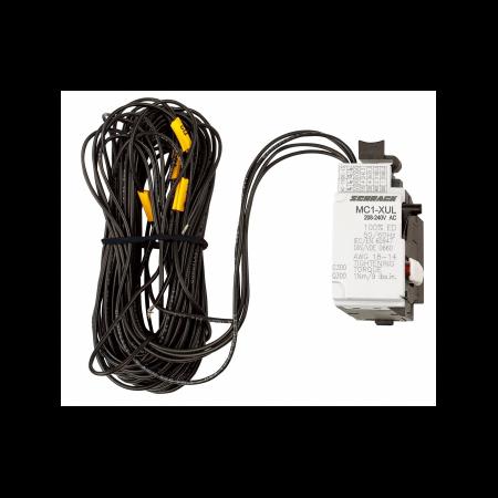 Bobina de declansare la tensiune minima 208-240 V AC/DC  cu cablu 3m pentru MC1  Schrack Schrack