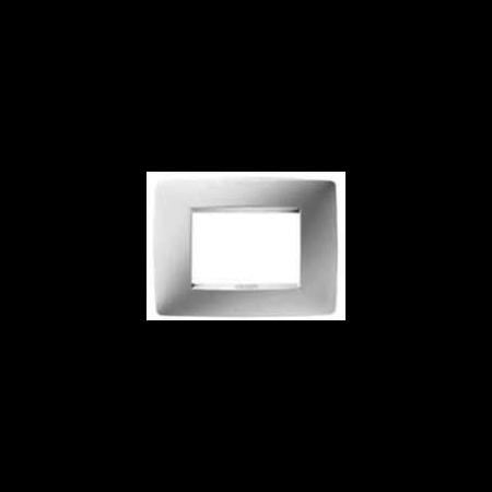Placa ornament 3 module pentru sistemele de afisare Alb  Febelettrica
