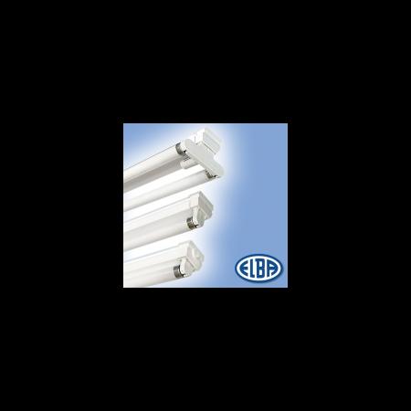 Corpuri de iluminat Fluorescente pentru Montaj Aparent , 2X18W   , FIA - 11 LINEXA  ELBA Elba