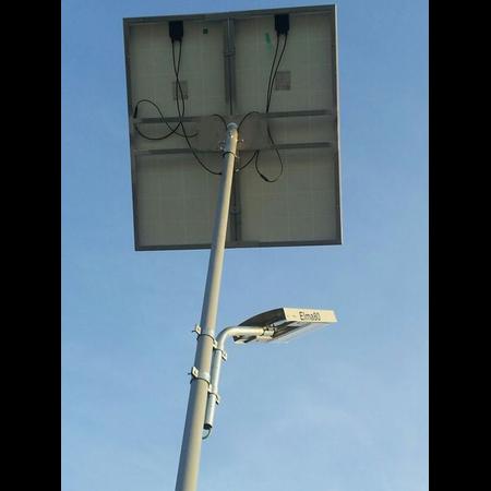 Stalp stradal fotovoltaic 27W Electromagnetica