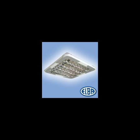 Corpuri de iluminat Fluorescente pentru Montaj Aparent , 4X18W DP 7 lamele 830(840) HF-S,  FIRA-03 MATIAS  ELBA Elba