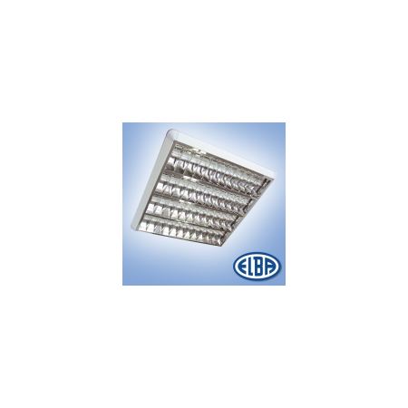Corpuri de iluminat Fluorescente pentru Montaj Aparent - 4 x 18 W  HF-S, FIRA 07 PLATOS DR,  ELBA Elba