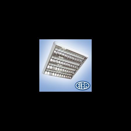 Corpuri de iluminat Fluorescente pentru Montaj Aparent - 4X18W 830(840) HF-S, FIRA 07 PLATOS DR,  ELBA Elba