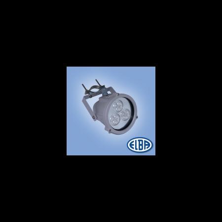 Proiectoare, DELFI 9X1W LED ALB, 1 niplu, IP 68, ELBA Elba
