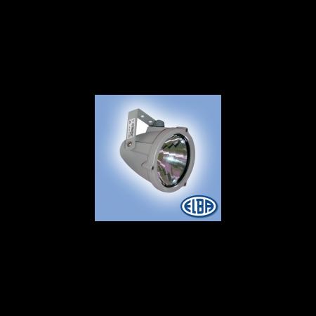 Proiectoare, RONDO 01 80W lampa albastra, 1 niplu, IP66, ELBA Elba