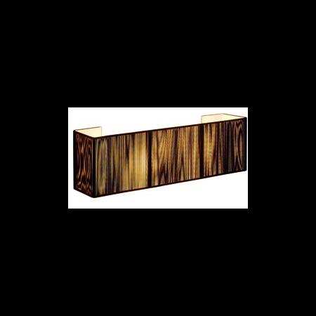 LASSON, aplica perete, WL-1, negru, 2xE27 Cavi