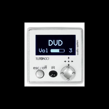 Unitate de control digitala , crom metal(argintie), TUTONDO Tutondo