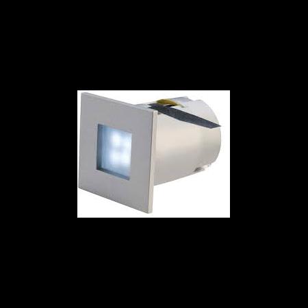 Spot MINI FRAME LED,gri,lumina albastra Cavi