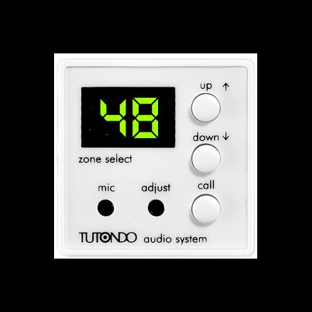 Modul Microfon selectiv incastrat, alb, TUTONDO Tutondo