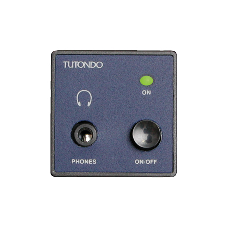 Modul incastrat pentru casti stereo, negru ( gri antracit),  TUTONDO Tutondo