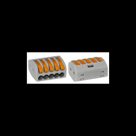 Clema rapida conexiune 5x0.75-4mmp Wago