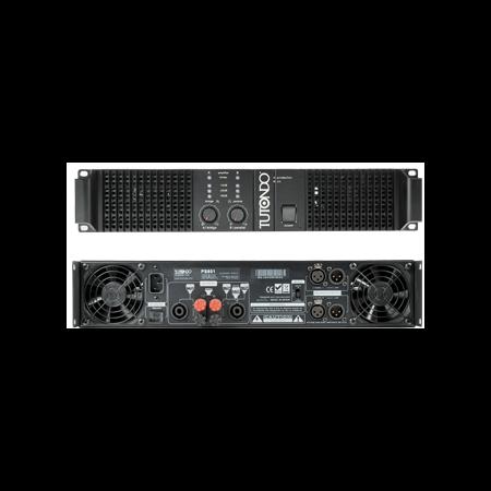 Amplificator de putere finala stereo , la 4 Ohm 100 100 W, pe 8 ohm 70 70 W, TUTONDO Tutondo