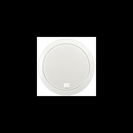 Difuzor rotund acustic, carcasa metal rotunda incastrata in tavan,2-cai 8W, 24 VDC, alb , TUTONDO Tutondo