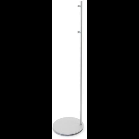 Podea suport pentru difuzor, cu baza rotunda, alb, TUTONDO Tutondo