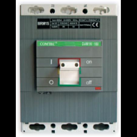 Intrerupator automat industrial tripolar, 3P, S800/ 630A, 65kA Comtec
