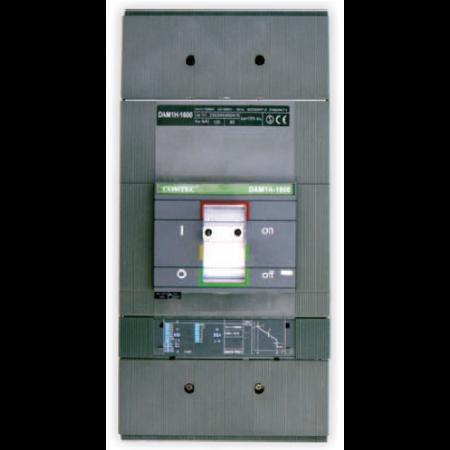 Intrerupator automat industrial tripolar, 3P, H1600/ 1600A, 85kA Comtec