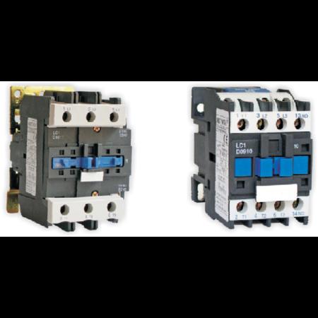Contactor de forta de tip D, 95A/ 220V, LC1-D95/ LX1-D6, 1ND+1NI Comtec