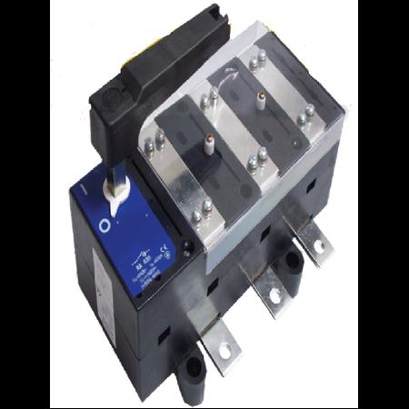 Separator tripolar fara protectie cu maneta rotativa, 3P, RA 630/ 630A Comtec