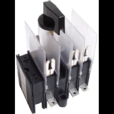 Separator tripolar cu protectie cu maneta rotativa 3P, RAB 00C/ 100A Comtec