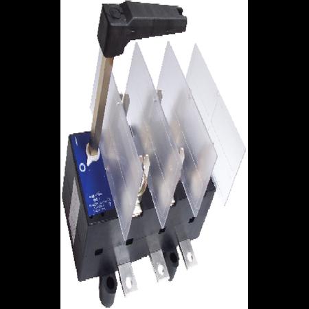 Separator tripolar cu protectie cu maneta rotativa 3P, RAB 1/ 250A Comtec