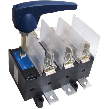 Separator tripolar cu protectie cu maneta rotativa 3P, RAB 3/ 630A Comtec