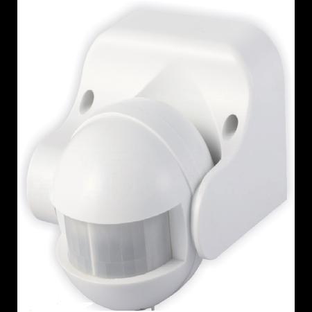 Senzor miscare reglare verticala, in infrarosu cu deschidere 180°,minge, 1200W-ST09 Comtec