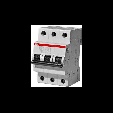 Siguranta automata tripolara 63A 6ka S203-C 63 ABB ABB (Europe)
