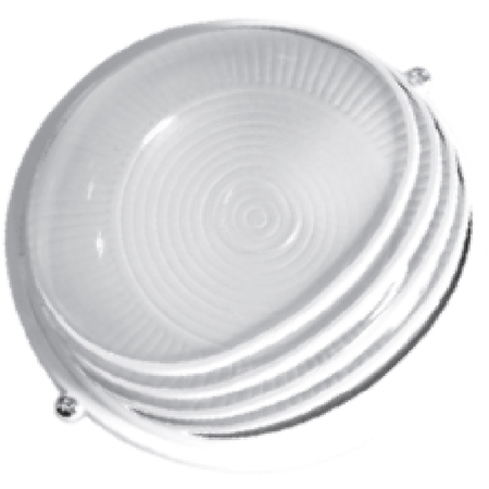 Lampa exterior 1x max100W, E27/IP54/ Alb, TG-3201.09 Total Green