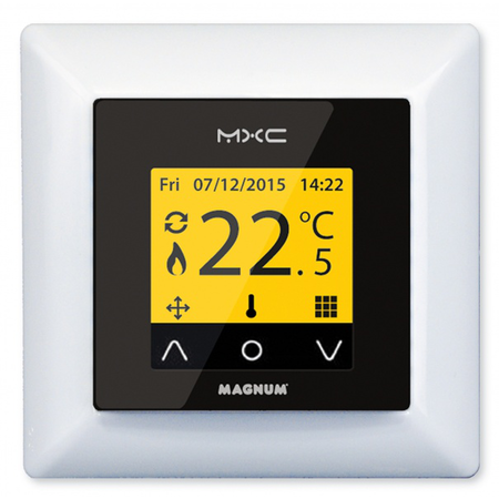 Ceas control cu termostat, senzor de podea 16A/230V MAGNUM X Magnum