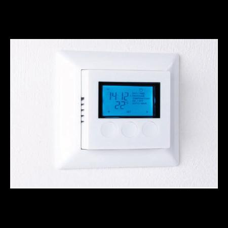 K12- Ceas digital cu termostat, senzor de podea 16A/230V Magnum