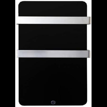 Panou radiant MAGNUM Glassheat Bathroompanel 400W 48x84x14cm negru, termostat inclus Magnum