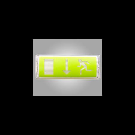Corp de iluminat de siguranta cu LED-uri, 356 x 136 x 84 mm, 8W, 24V c.a, ELECTROMAGNETICA Electromagnetica