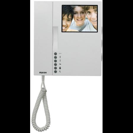 Post interior video interfon, cu monitor la detinator,