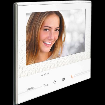 Post interior video interfon alb Bticino