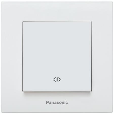 Intrerupator cap scara Karre Plus Panasonic alb Panasonic