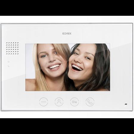 Monitor color 7 inch pentru kit video interfon Elvox Vimar