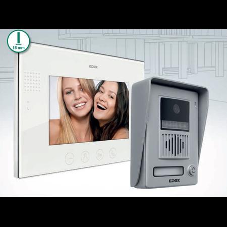 Kit video interfon 1 familie 1 post interior  Elvox Vimar