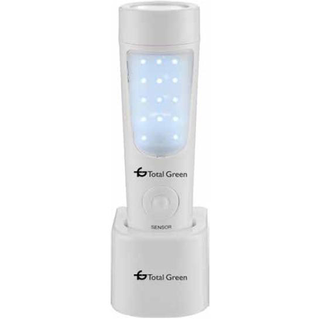 Lampa veghe  cu senzor 3 in 1 - Lanterna, lampa emergenta, lampa veghe Dylan Total Green