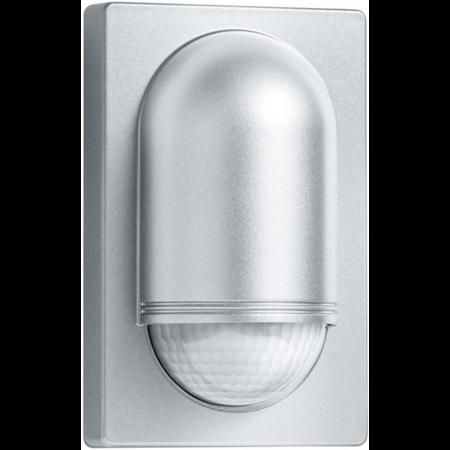 Senzor de miscare,detectie cu infrarosu,montare perete exterior,180grade,argintiu Steinel