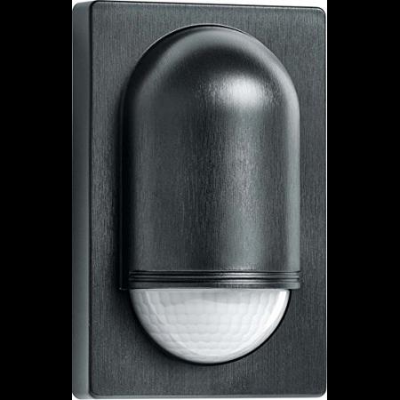 Senzor de miscare,detectie cu infrarosu,montare perete exterior,180grade,negru Steinel
