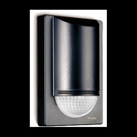 Senzor de miscare,detectie cu infrarosu,montare perete exterior,180grade,12m,negru Steinel
