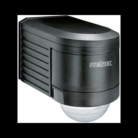 Senzor de miscare,detectie cu infrarosu,montare perete exterior,300grade,negru Steinel