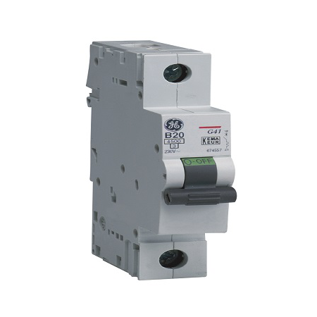 Siguranta automata monopolara G45  1P  25A  C 4,5KA     General Electric