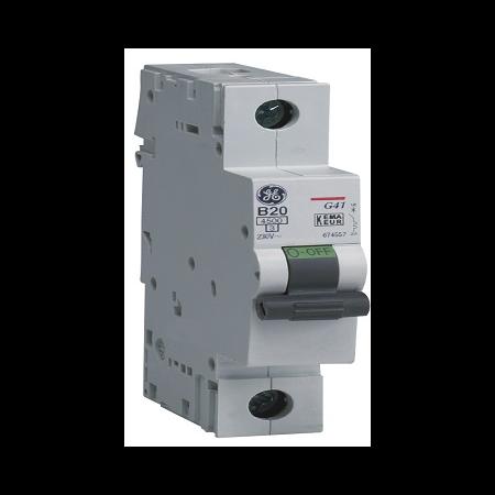 Siguranta automata monopolara G45  1P  20A  C 4,5KA     General Electric