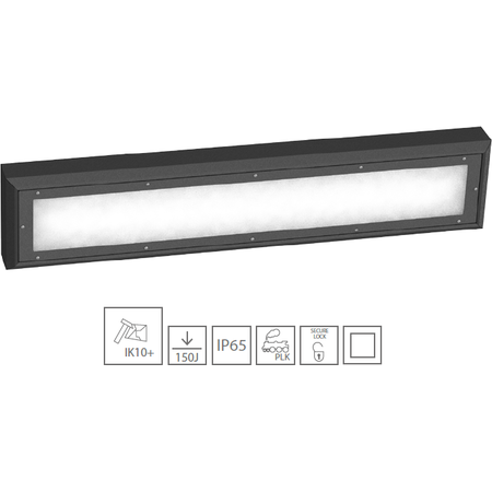 Corp iluminat antivandalism LED 39,2W Atm Lighting