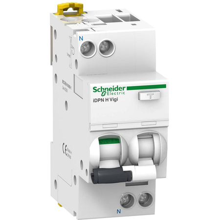 Intrerupator automat diferential 1P+N,30mA,25A/C,10KA,iDPN H Schneider